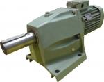 Цилиндрический двухступенчатый мотор-редуктор KMR