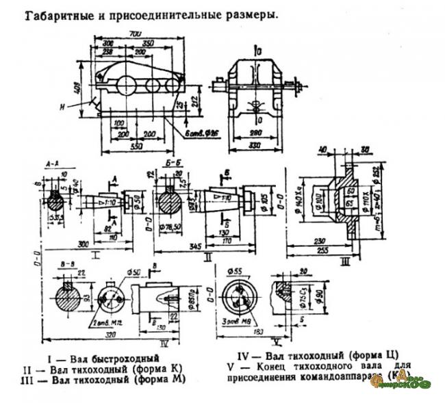 Редуктор Ц2-350